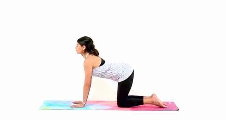 Powerful yoga postures