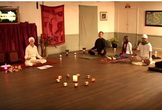 Laya Yoga meditation