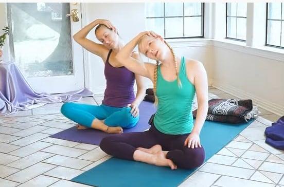 Yoga against insomnia movie